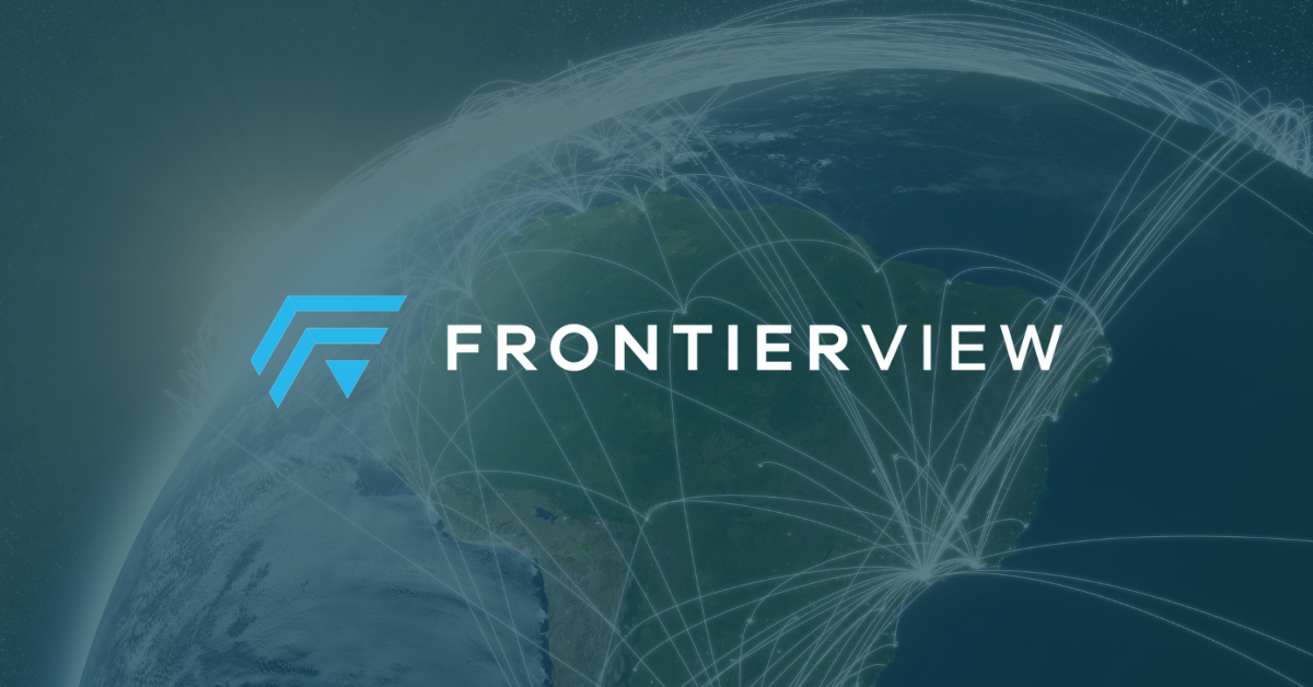 We are FrontierView